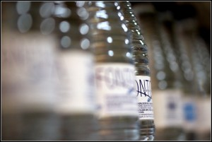 Water bottles have come under scrutiny on some college campuses. Photo courtesy Photopin