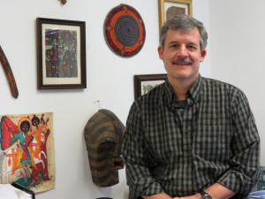 Professor Tim Bascom will lead a group of students in teaching poetry at local high school.