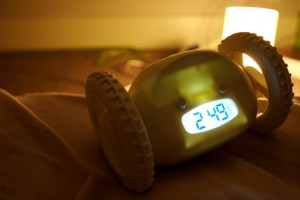 One adjustment for freshman college students is the responsibility of waking up on their own. Photo courtesy of Photopin