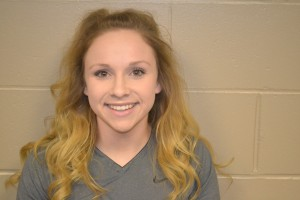 Erica fee is the Athlete of the Week. Photo courtesy