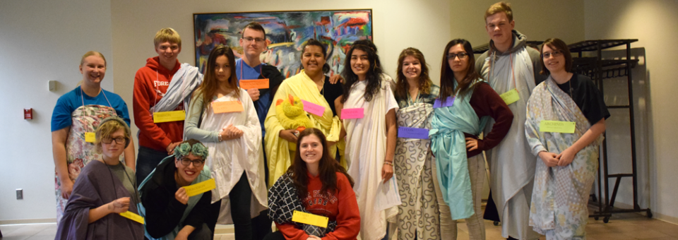Waldorf honors class embraces greek culture in play