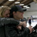 Fans Support Warrior Hockey with Skate with the Warriors