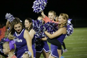 Madison Stenerson getting the girls excited - Waldorf Cheer Clinic - Victoria Carra