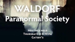 Paranormal Society meets every Thursday. Photo courtesy of Waldorf Paranormal Society