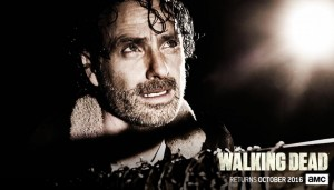 Rick Grimes at the mercy of a new villain on the Walking Dead. Photo via web