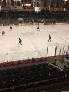 Berry Evens Center hockey arena. Photo by Damon Hlegevold