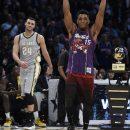 Dinwiddie, Booker, Mitchell winners in All-Star Weekend
