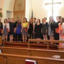 Bethany Lutheran Church gets a preview of the Choir's Homecoming Concert