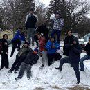 SAPAC creates campus snowball fight