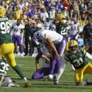 Missed Field Goals doom Vikings and Packers; ends in tie