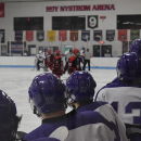 Waldorf Hockey Hosts the Concordia Cardinals